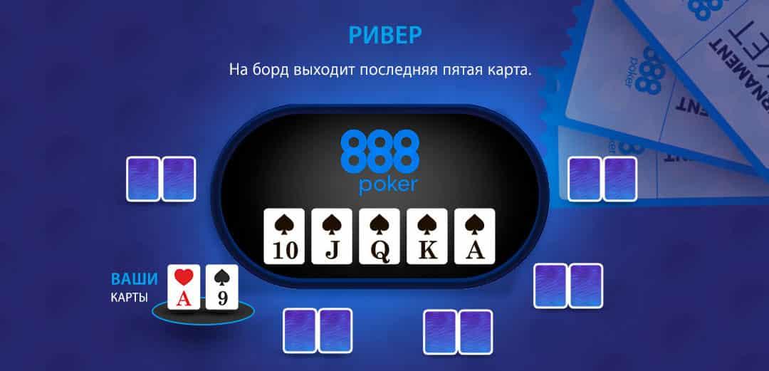ривер 888 покер