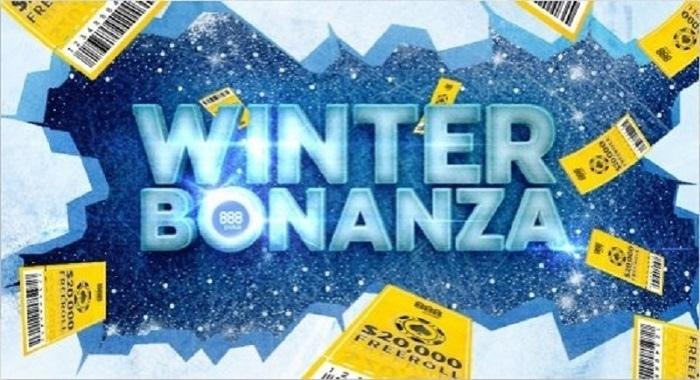 Winter Bonanza акция от 888poker