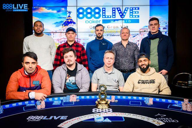 Участники 888poker LIVE Londn 2019