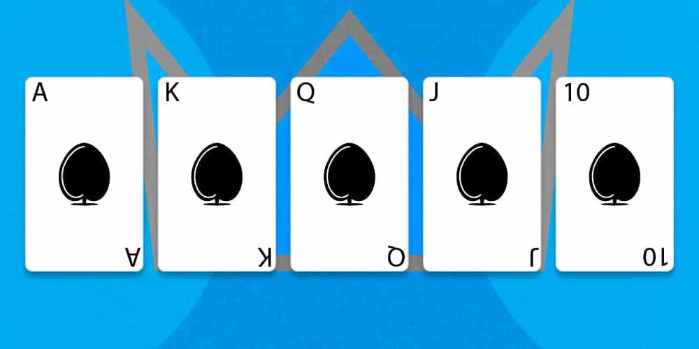 Флеш рояль в покере