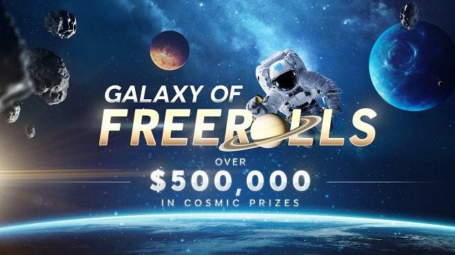 С 25 марта по 7 июня полмиллиона долларов в «Galaxy of Freerolls»