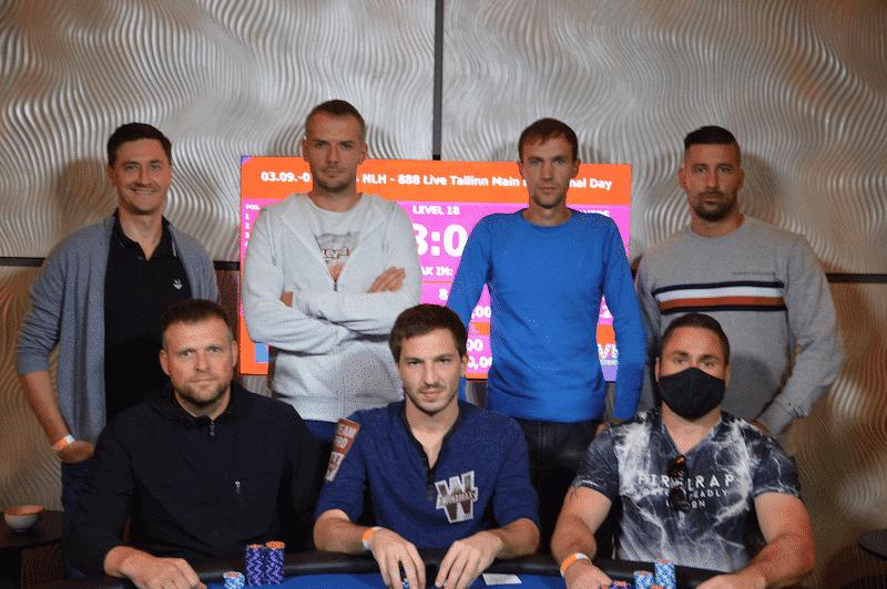 Финальный стол 888poker LIVE в Таллинне
