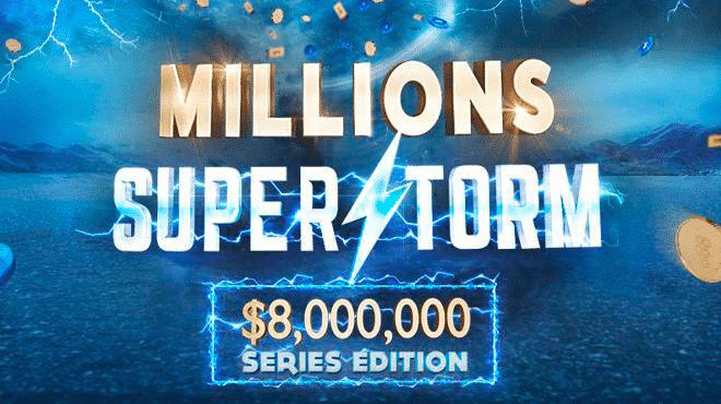 Сыграйте в Главном событии Millions Superstorm на 888poker абсолютно бесплатно!