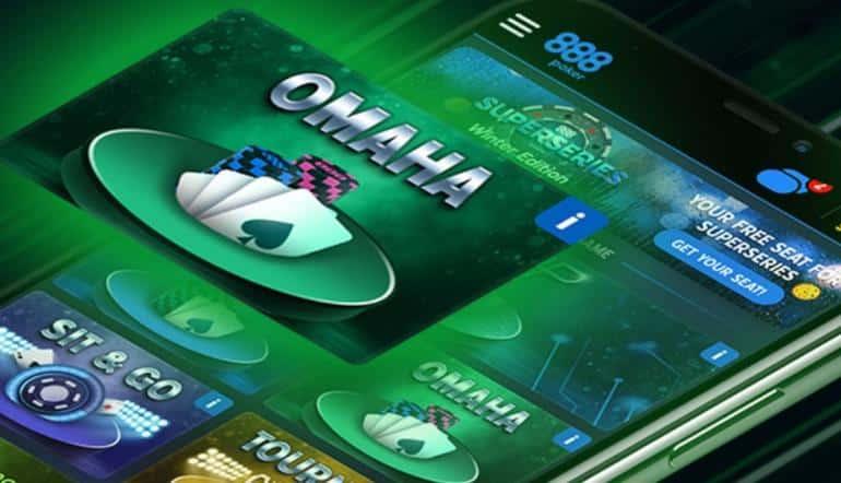 Новые турниры по Омахе в формате PKO доступны игрокам 888poker!